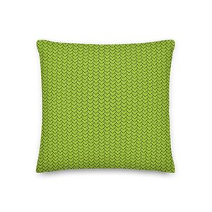 Lime Mermaid Pillow