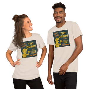 Try a Tiki Drink Short-Sleeve Unisex T-Shirt
