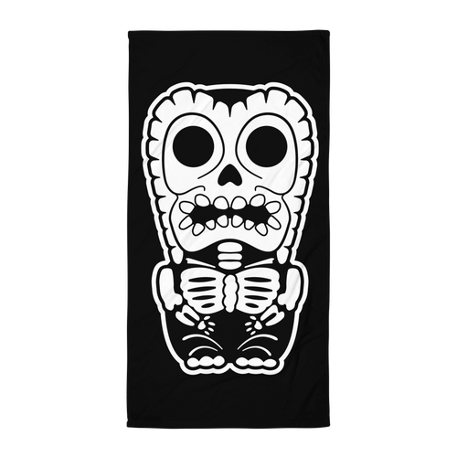 X-Ray Tiki Towel