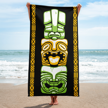 Load image into Gallery viewer, Tiki Stack Beach Towel
