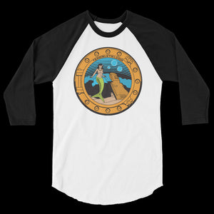 Porthole Mermaid 3/4 Tee