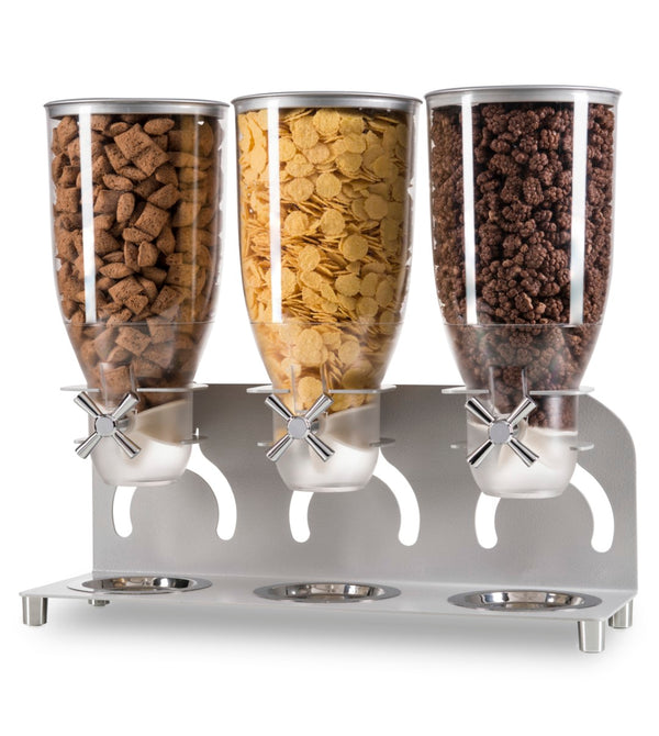 Kell300 Cereal Dispenser_Triple Free Standing_IDM Dispenser