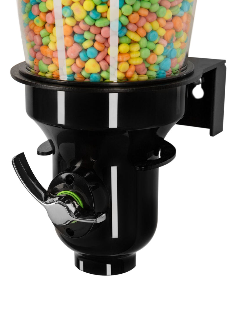 DH10-BL-FF_Candy Dispenser_Single Wall Mounted_Black edition_IDM Dispenser