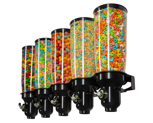 DH50-FF Candy Dispenser_Wall Mounted_Black_IDM Dispenser