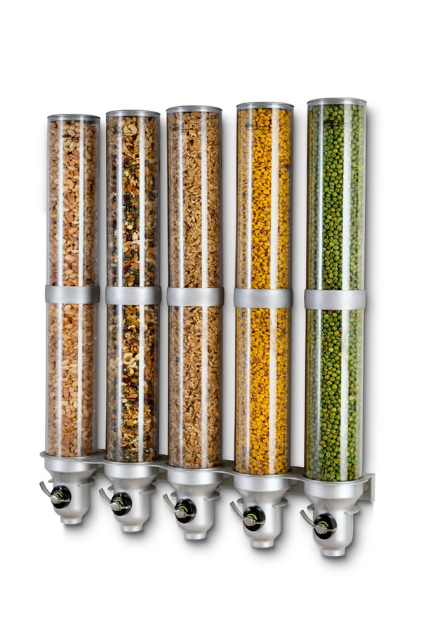 H50L-SI-FF_Organic & Dry Food Dispenser_Wall Mounted_IDM Dispenser
