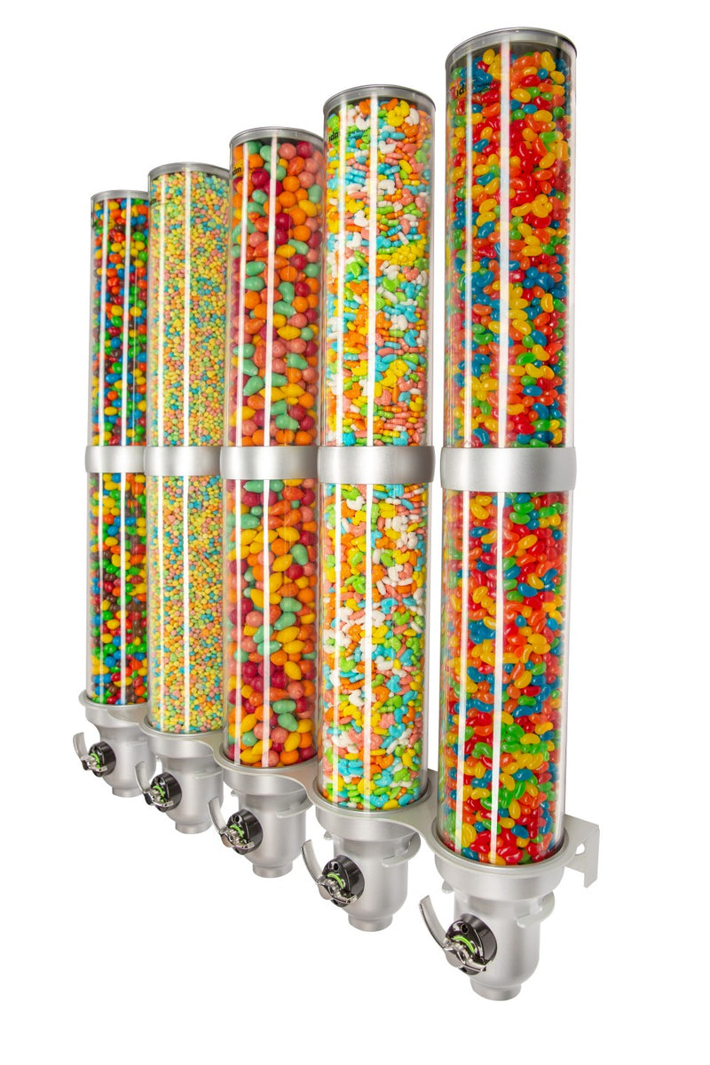 H50L-SI-FF Candy Dispenser_Wall Mounted_9L_Silver_IDM Dispenser