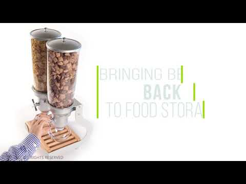 ACD50 ORGANIC & DRY FOOD DISPENSER