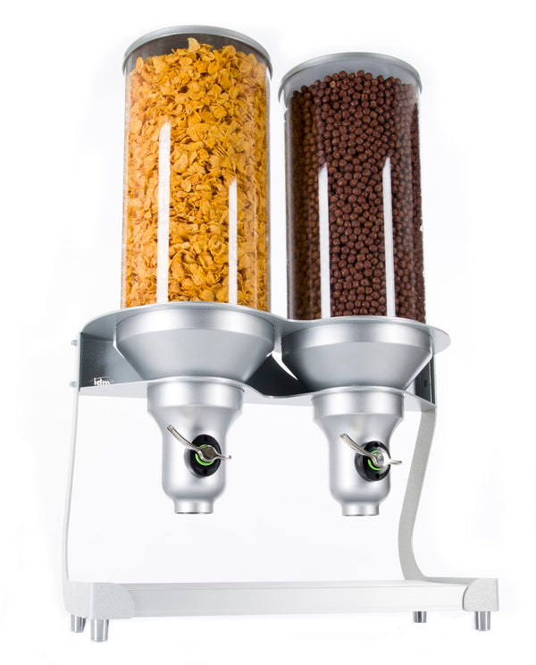 ACD400-SI-FF Bulk Cereal Dispenser_Double Free Standing_13.5L_IDM Dispenser