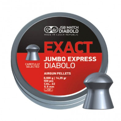 JSB EXACT JUMBO EXPRESS .22 (5.5MM) PACK 500