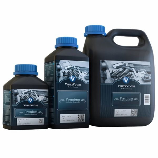 VIHTAVUORI N550 RIFLE POWDER 1KG BOTTLE