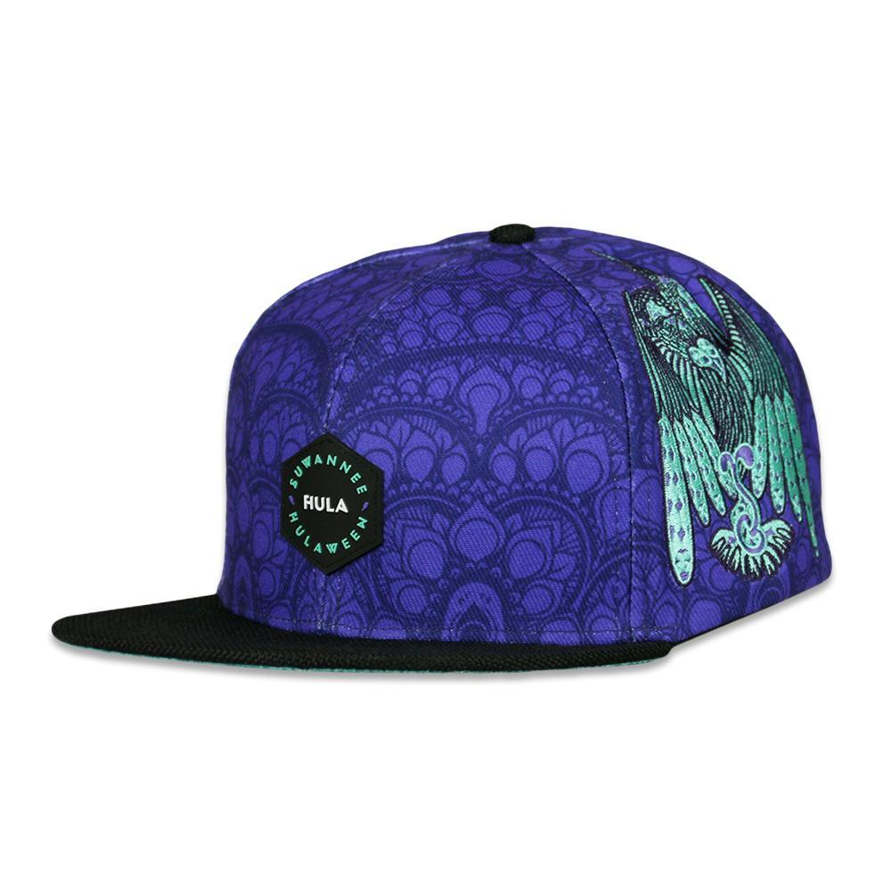 Purple Snapback Hat