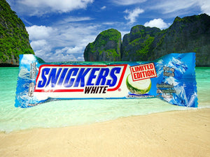 Snickers White Limited Edition -Coconut