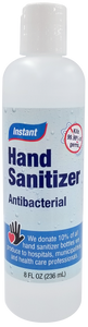 Antibacterial Hand Sanitizer - 80% Alcohol Concentration Pack of 50 Bottles