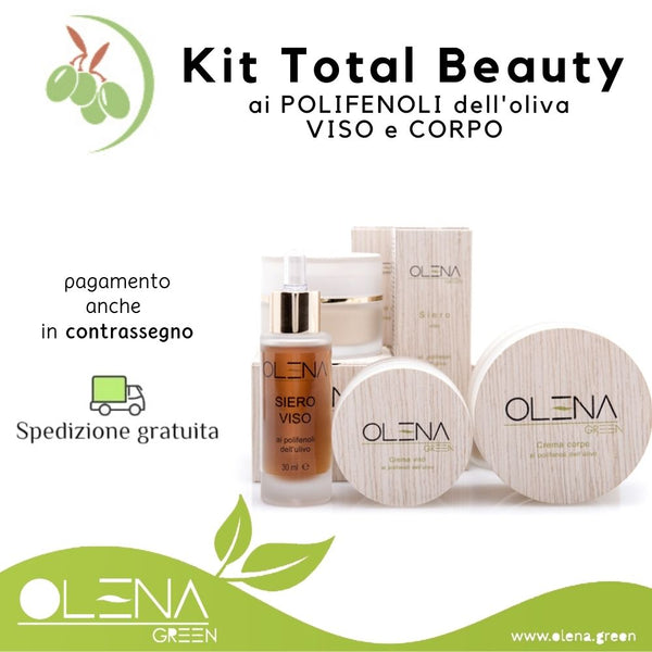 KIT TOTAL BEAUTY VISO E CORPO ANTIAGE - Olena Green