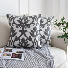 Load image into Gallery viewer, Euro Style Embroidered Pillow Cover