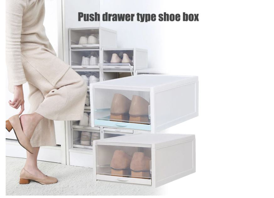 Stackable Shoe & Sneaker Box