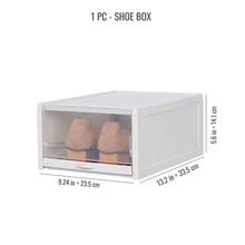 Load image into Gallery viewer, Stackable Shoe & Sneaker Box