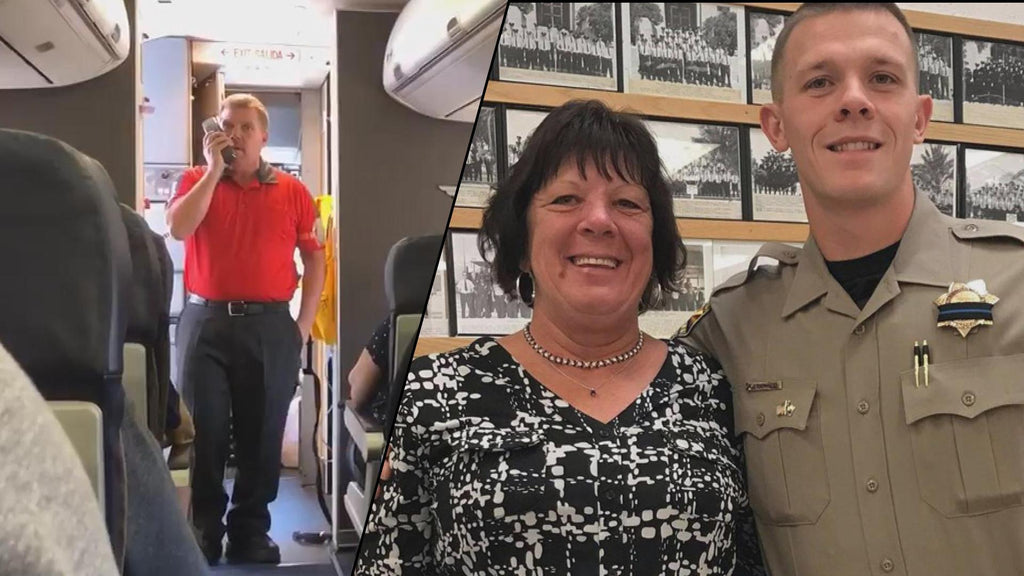Mom Lost Her Son In The Line Of Duty, So A Southwest Airline Worker Honored Him In This Stunning Way...