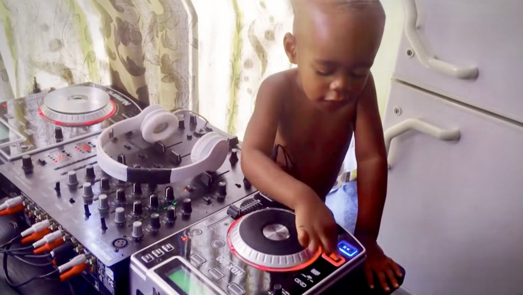 Dad Catches Adorable 2-Year-Old Playing With DJ Equipment, Now, 4 Years Later, He's On America's Got Talent!
