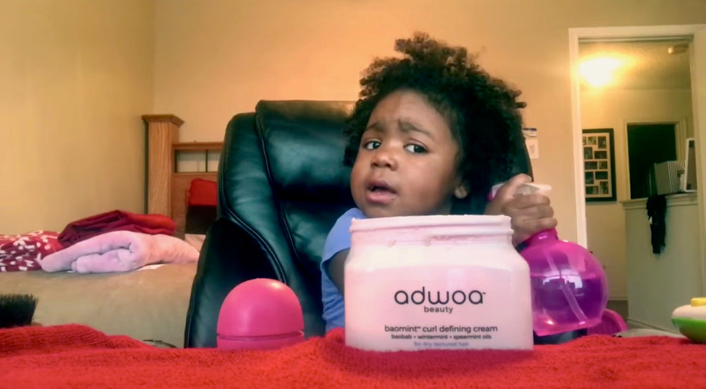 This Little Girl's Hair Tutorial Is The Most Adorable Thing Ever, She Is TOO Funny!