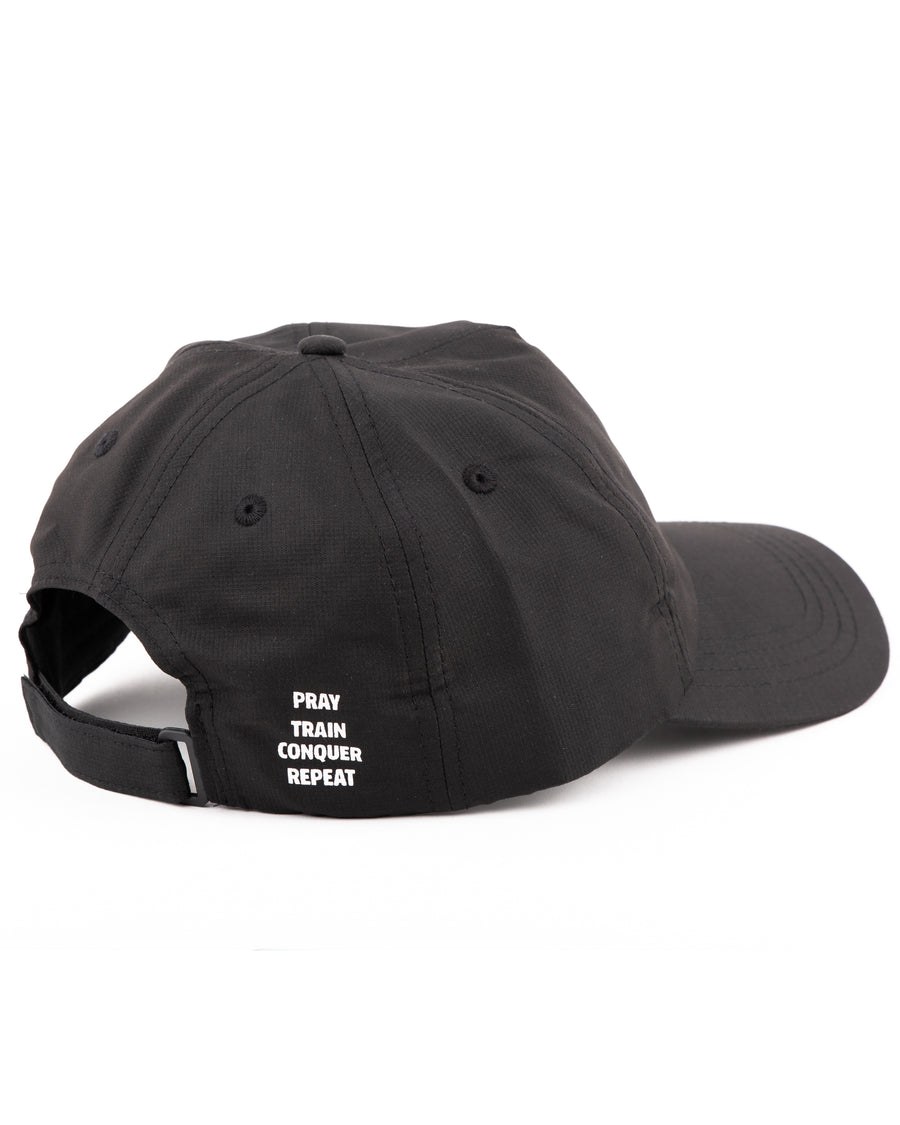 Pray Train Conquer Repeat Dad Hat