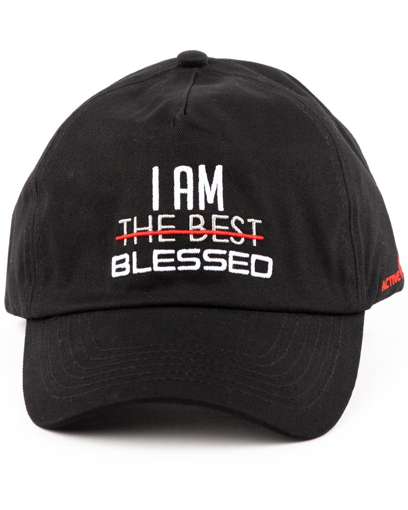 I AM BLESSED Dad Hat