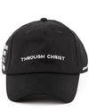 Through Christ Dad Hat