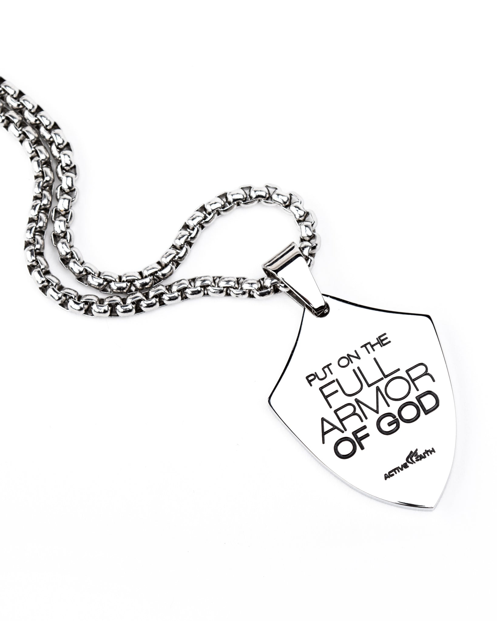 Men's Full Armor of God Shield Chain