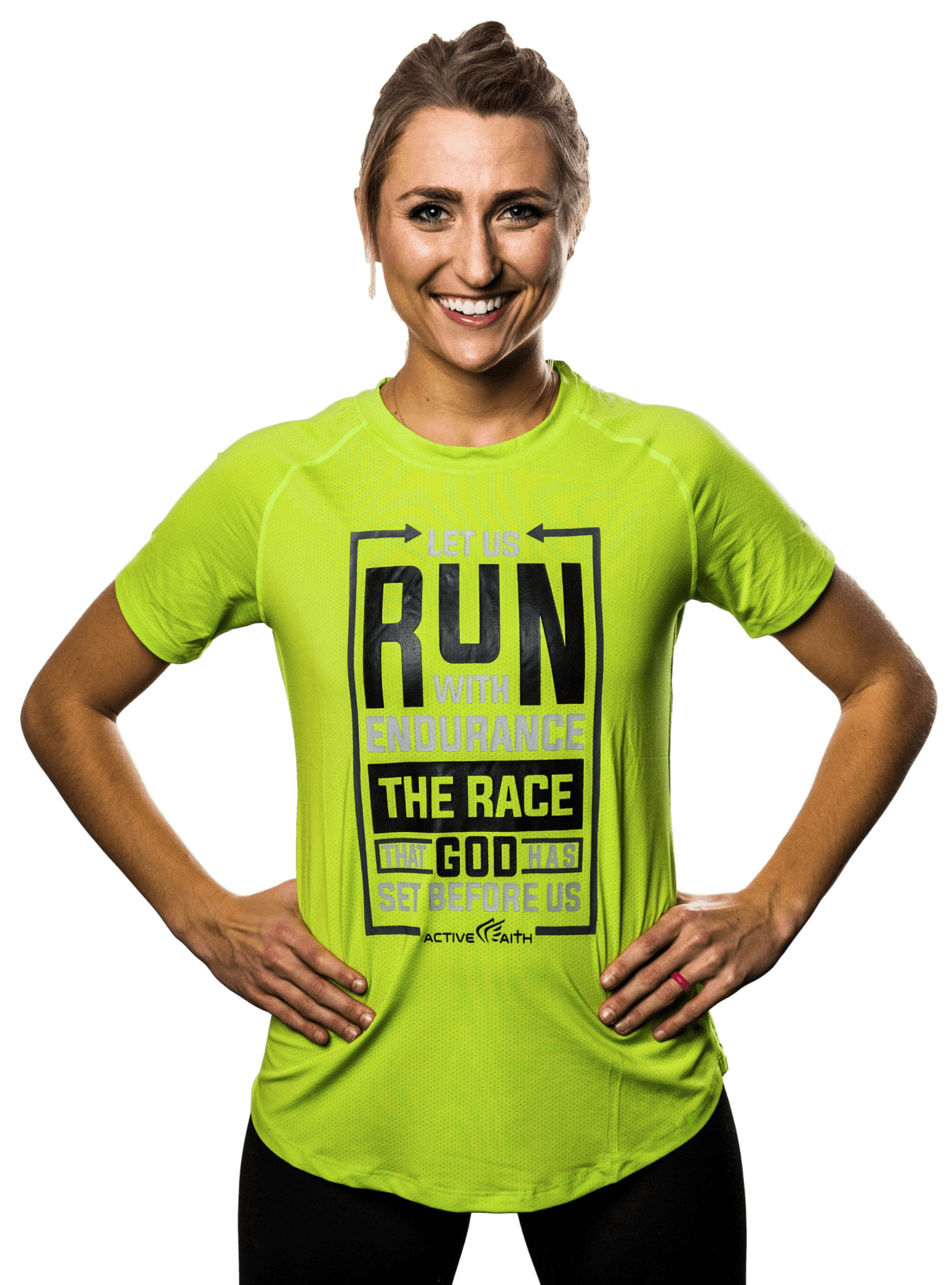 Women's Run The Race Performance Shirt