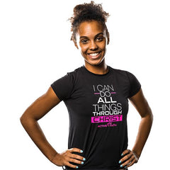 Youth Girls' I Can BOLD EasyDri Shirt