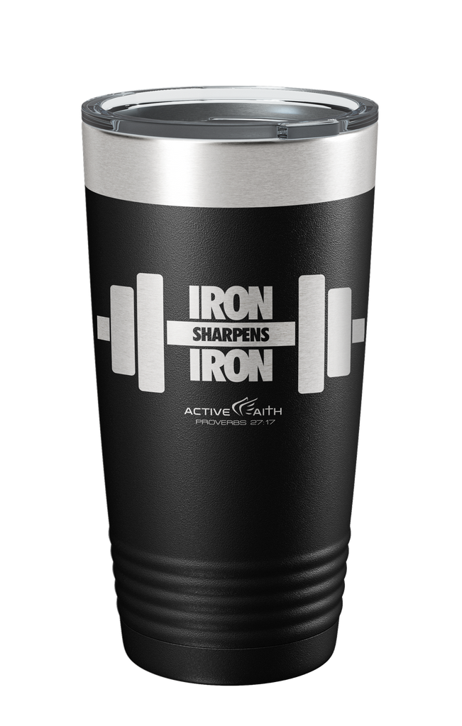 Iron Sharpens Iron Barbell Tumbler