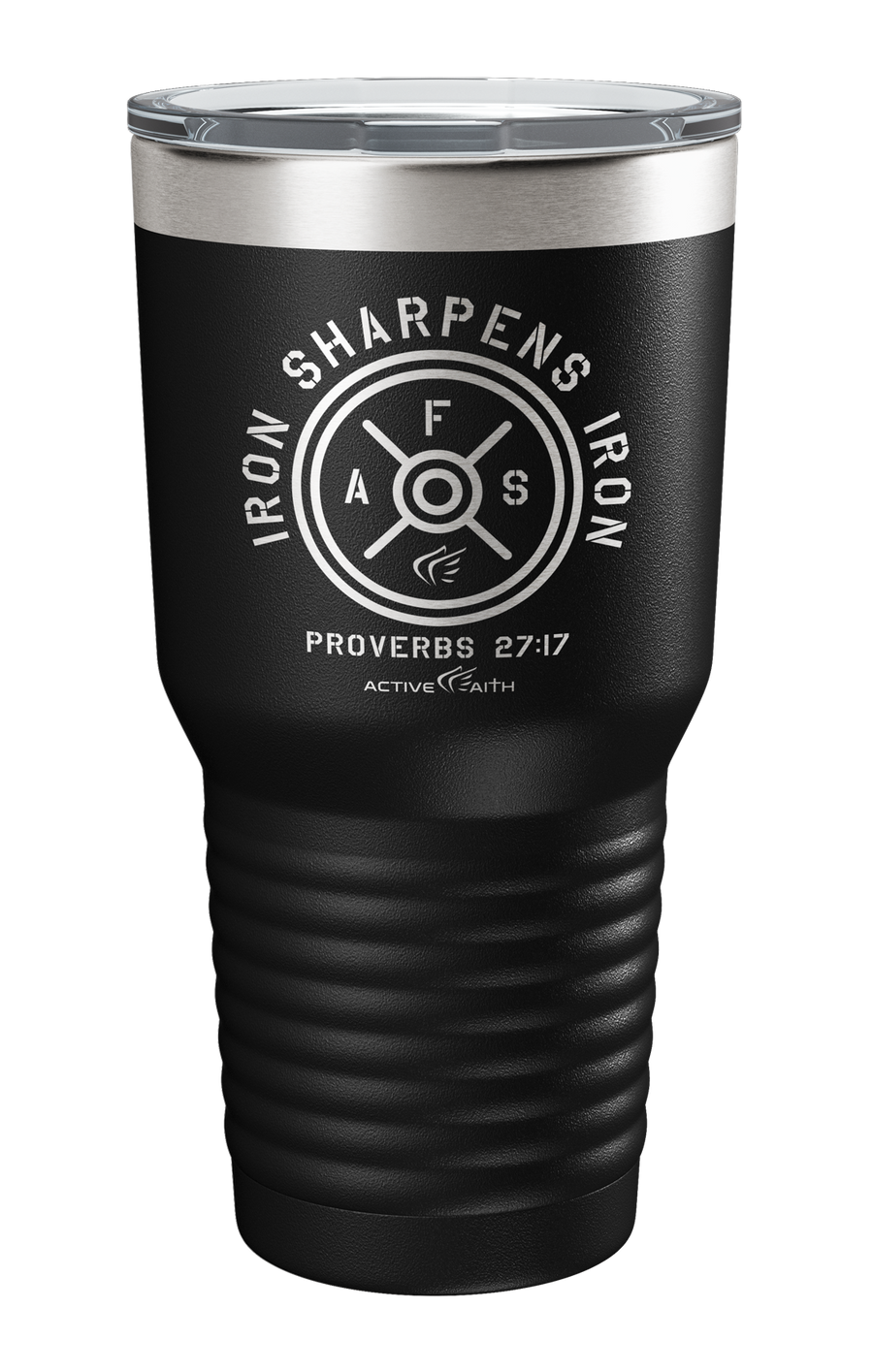 Iron Sharpens Iron Weights Tumbler