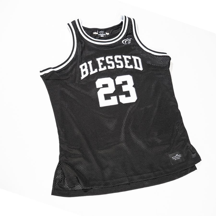 BLESSED Authentic Basketball Jersey