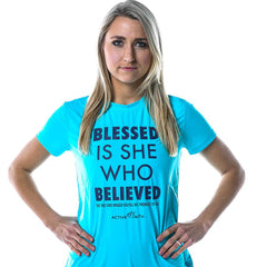 Blessed is She Bold Performance Shirt