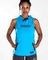 Women's Blessed Performance Tech Sleeveless Hoodie
