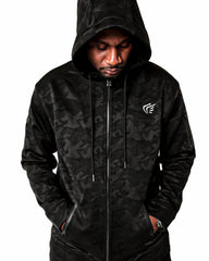 Active Faith Premium Camo Zip Up Hoodie