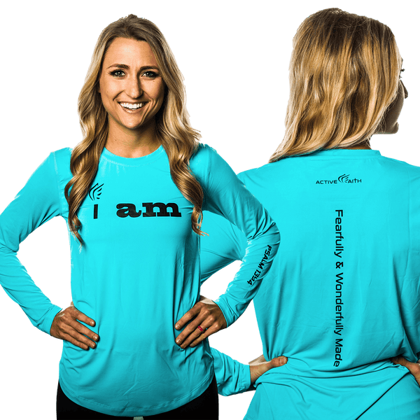 "Women's ""I AM"" Longsleeve Shirt"