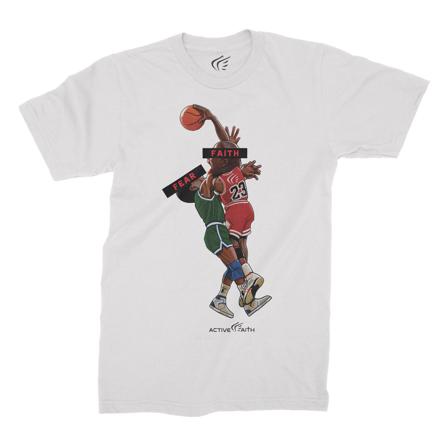 "Faith Over Fear ""MJ"" Tee"