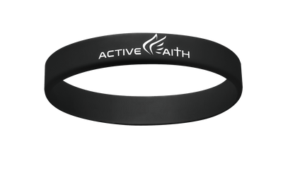 Active Faith FWM Band Black/White