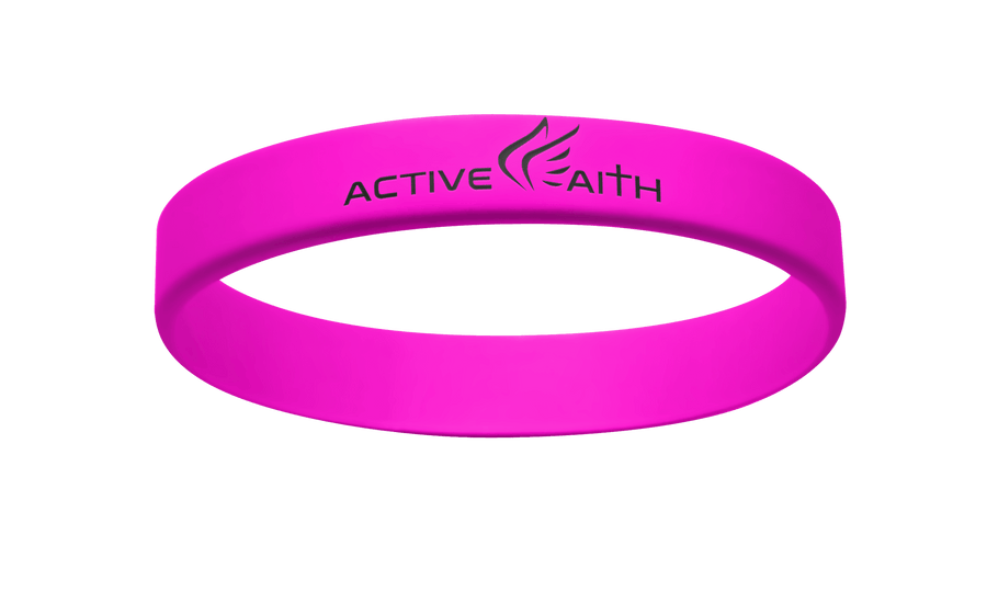 Active Faith FWM Band Pink/Black
