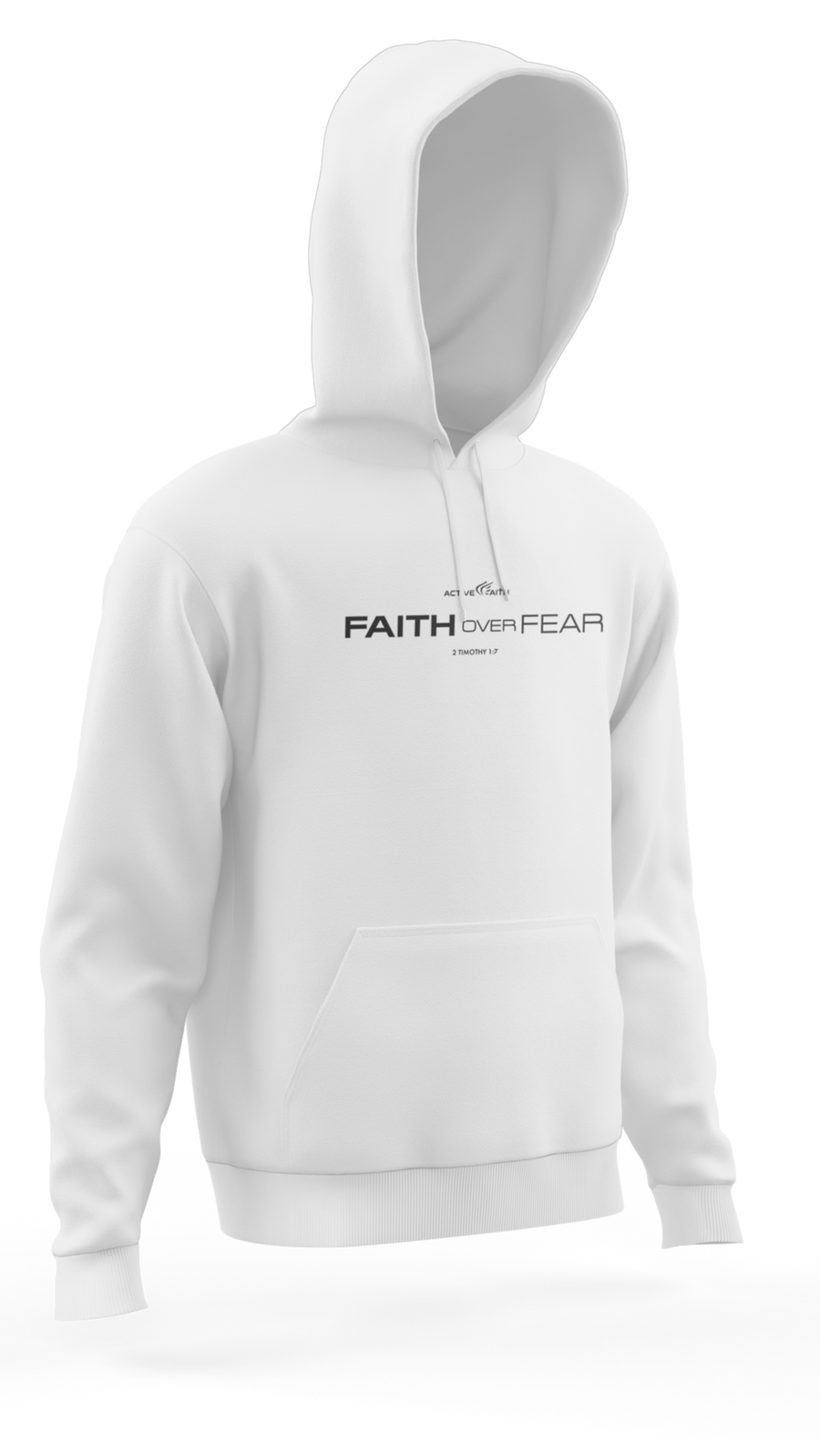 Faith Over Fear Statement Hoodie