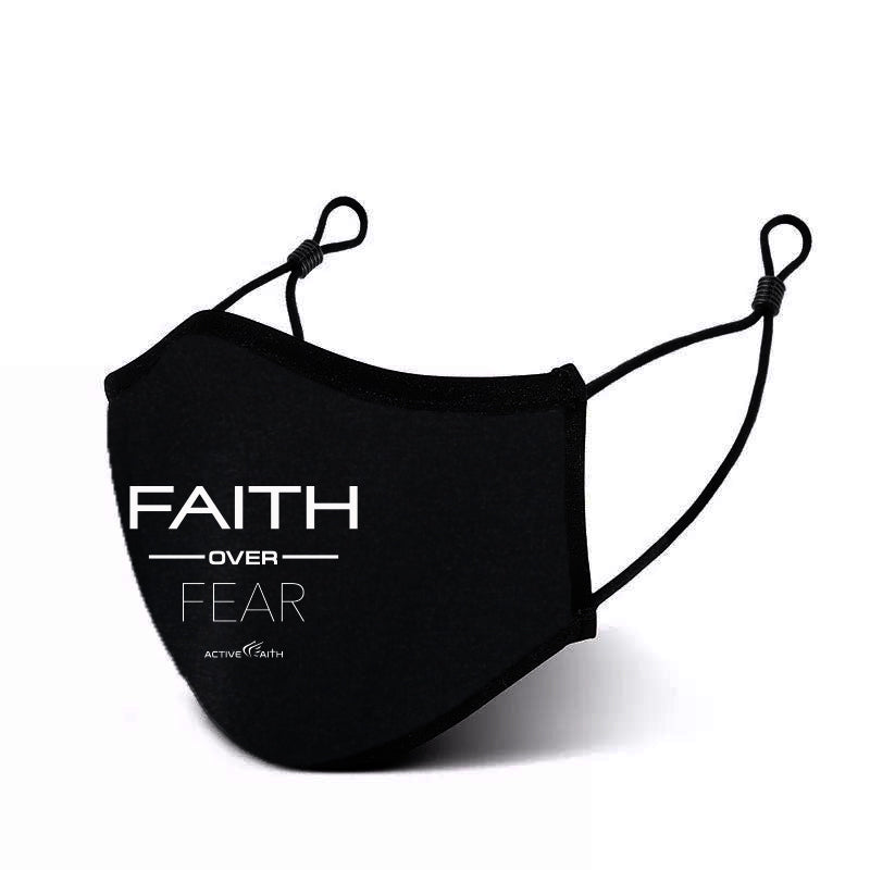 Faith Over Fear Performance Mask 2