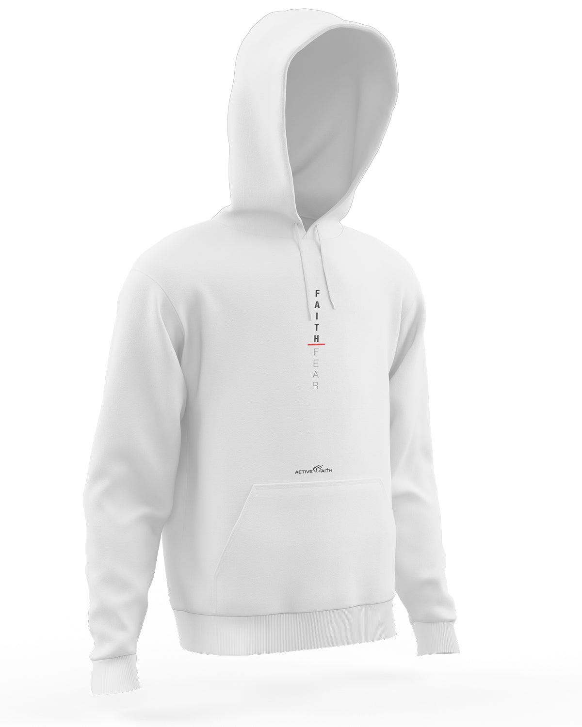 Faith Over Fear Vertical Hoodie