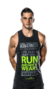 Men's Active Faith Running Tank