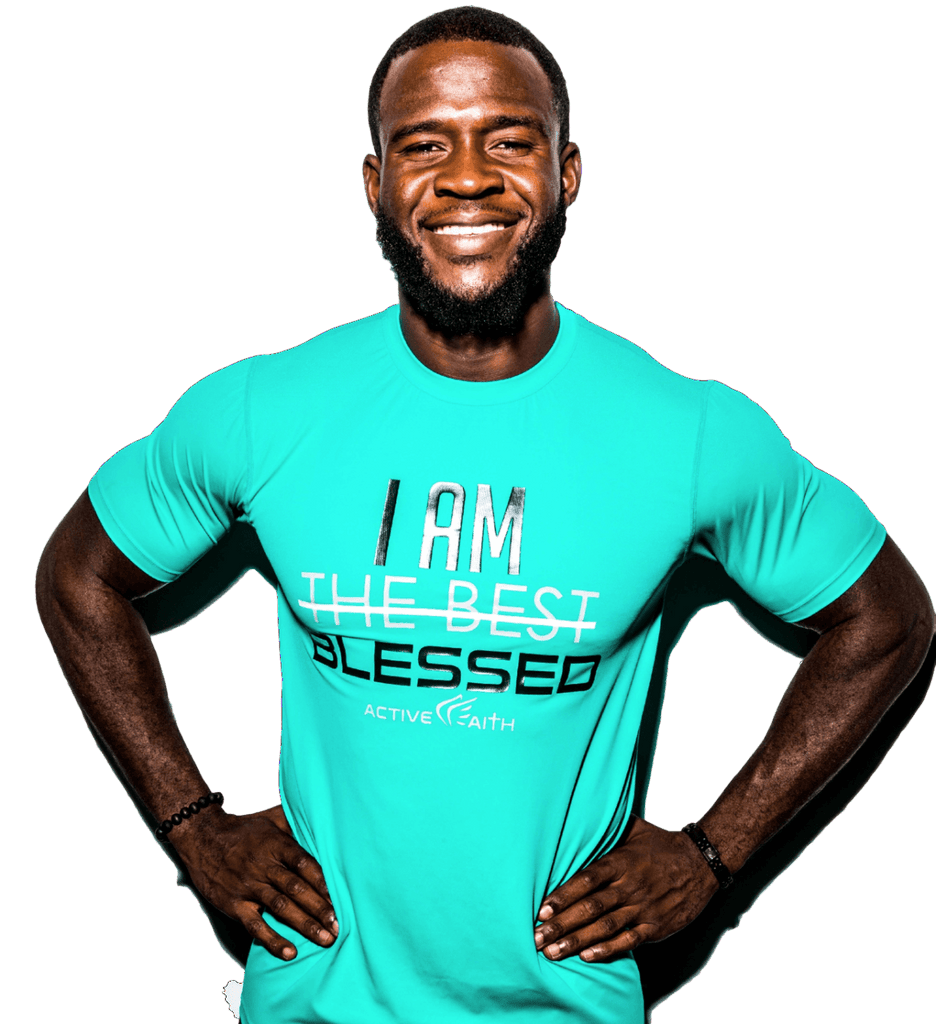 Men's I AM BLESSED EasyDri Shirt