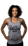 Women's Lord Is My Strength Performance Tank