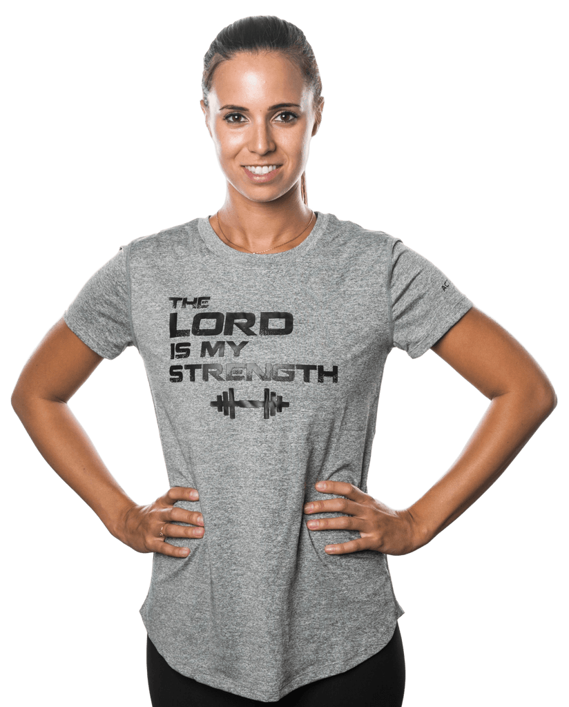 Active Faith Lord is My Strength T-Shirt | Shop Online