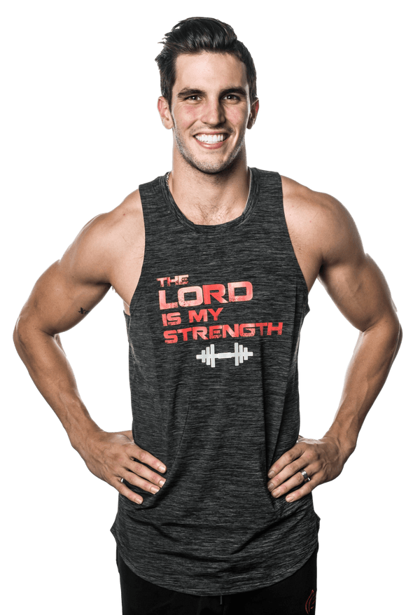 Men's Lord Is My Strength Performance Tank