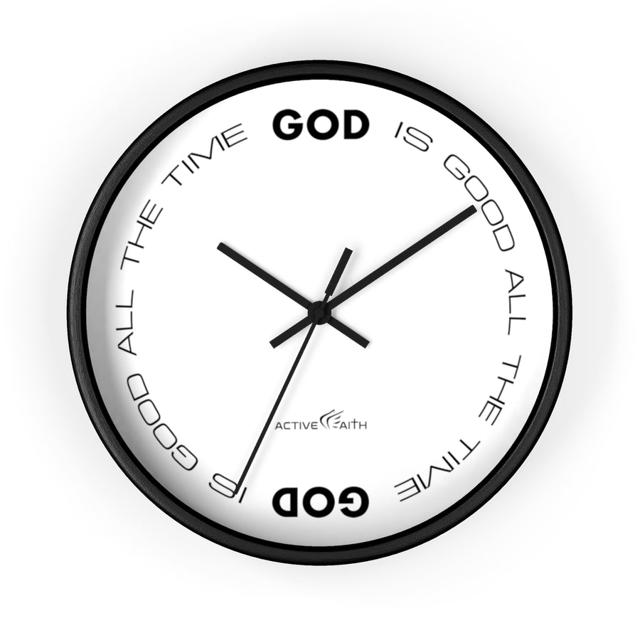 God Is Good All The Time Clock