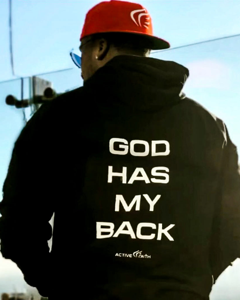 Unisex God Has My Back Hoodie